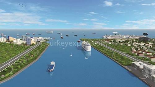 سرمایه گذاری در مجاورت پروژه های کانال استانبول