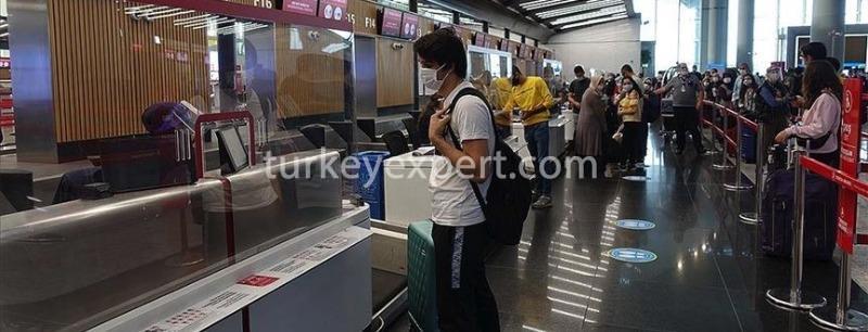 ترکیه پروازهای خود را از2