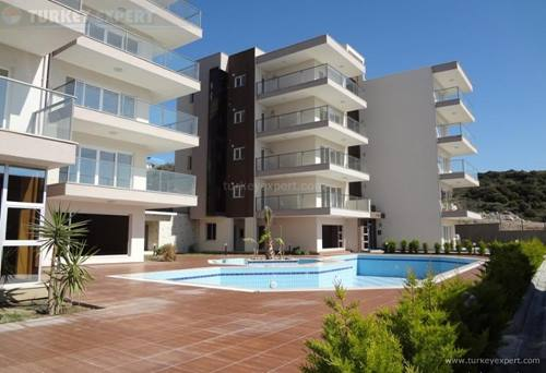 Seaview residences in Kusadasi