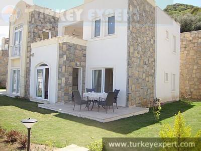 Panoramic sea views - apartment in Bodrum Yalikavak 200 m from beach