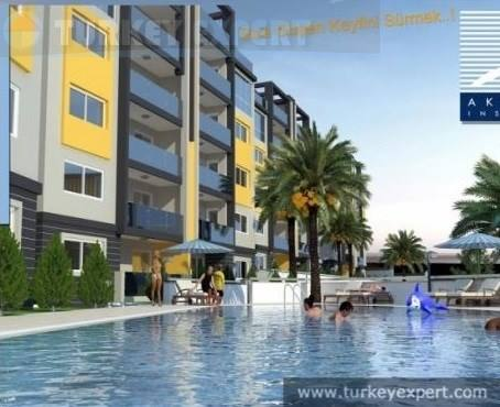 New residential development in Kusadasi town centre