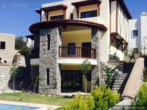 Exclusive seaview villa in Bodrum Yalikavak near Palmarina, private pool and garage