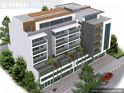 New downtown apartments in Kusadasi