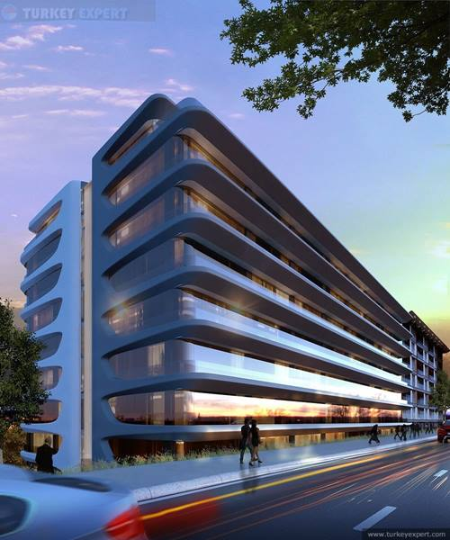 Modern apartment project near Taksim square, Istanbul