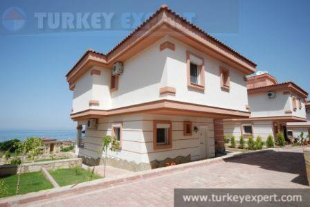 Attractive villa with private pool, full sea views, marina area in Kusadasi