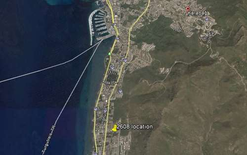 Building land in Bodrum Turgutreis near marina