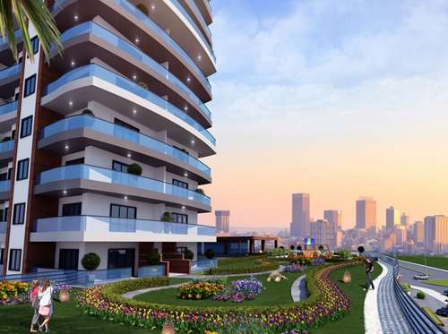 Apartment Project in Istanbul Beylikduzu, with 24 months payment plan, no interest
