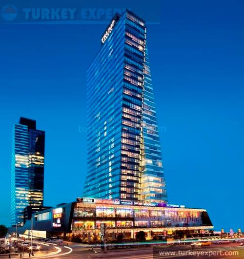 168 m2 spacious 2 bedroom apartment for sale in Luxurious Trump towers