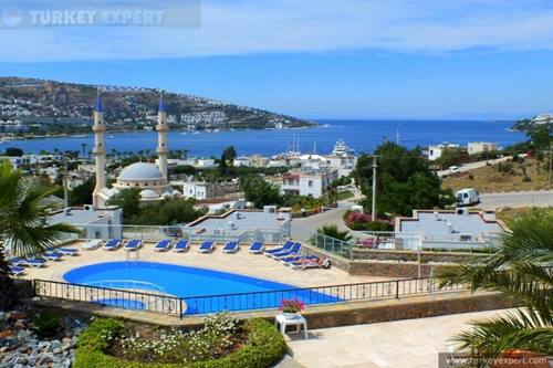 Holiday home for sale in Bodrum Gumbet center, near the beach and restaurants