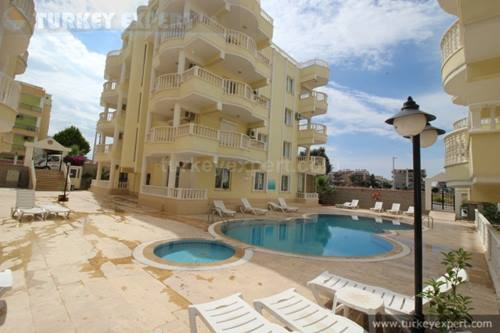 Large duplex apartment in Altinkum, only 800 meters to beach
