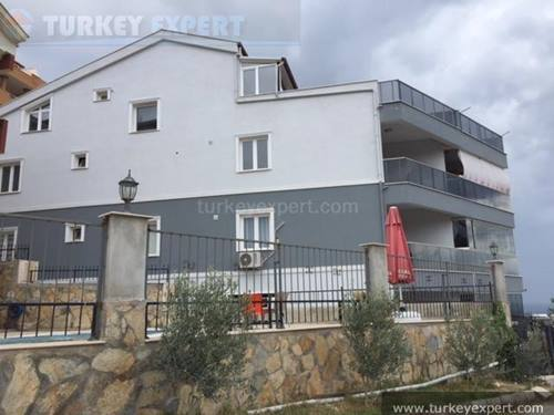 New penthouse apartment with sea views in Kusadasi Ladies Beach