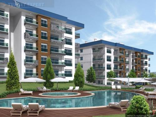 New apartment project in the city center of Kusadasi