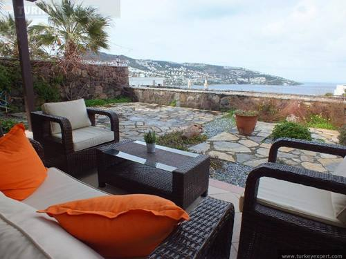 Villa for sale in Bodrum Gundogan with open sea views