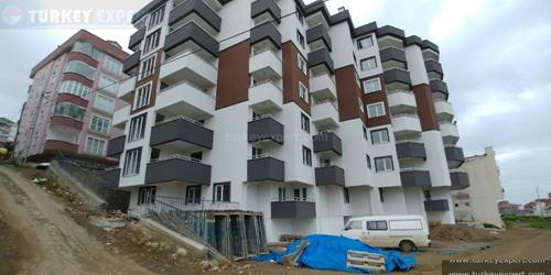 New Apartment for sale in Trabzon with sea views