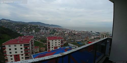 Spacious apartment for sales in Trabzon, on the 14th floor
