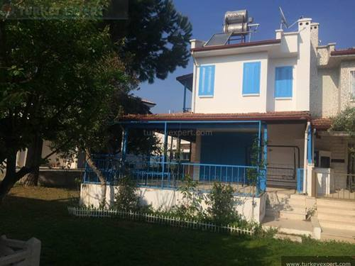 Holiday home for sale on a well maintained resort in Silver Beach area, Kusadasi
