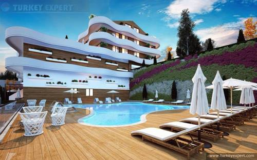Last apartments for sale in new project at Ladies Beach quarter of Kusadasi (photos updated)