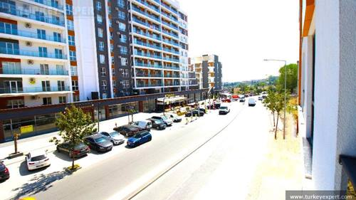 New apartment for sale in Istanbul in a complex with indoor swimming pool and services