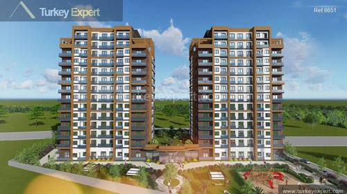 New build apartments for sale in Istanbul Esenyurt