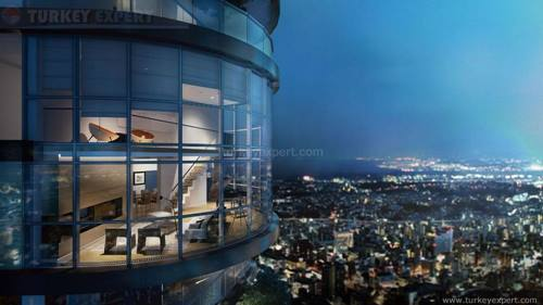 Floor-to-ceiling windows with sea view, Yeditepe Kadikoy project