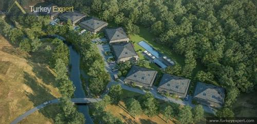 Exclusive forest villas in Istanbul with easy access to Maslak and Taksim