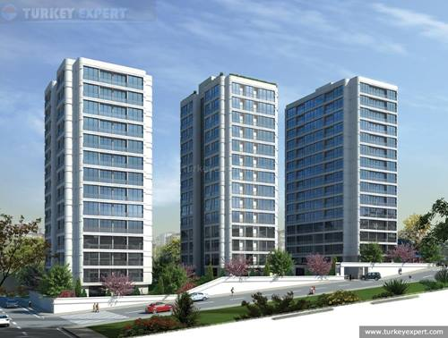 New apartments in one of Istanbul's prime locations, Petra Blan
