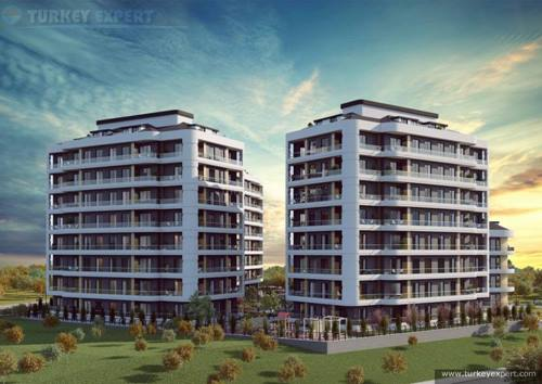High quality Avcilar Istanbul apartments in Mars 19 project, close to schools, universities and shopping,