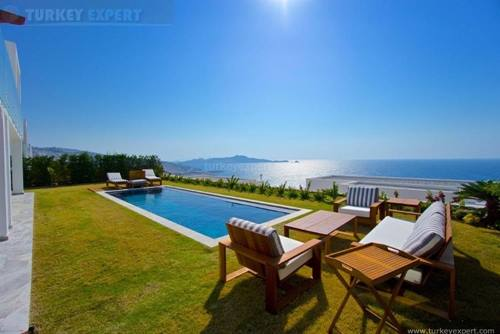 Beautiful new build villa for sale in Bodrum Yalikavak, private pool, breathtaking sea views