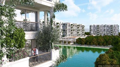Izmir investment apartments in an upcoming area