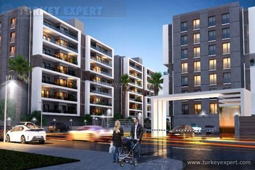 Mavisehir apartments close to amenities and the city centre, completed