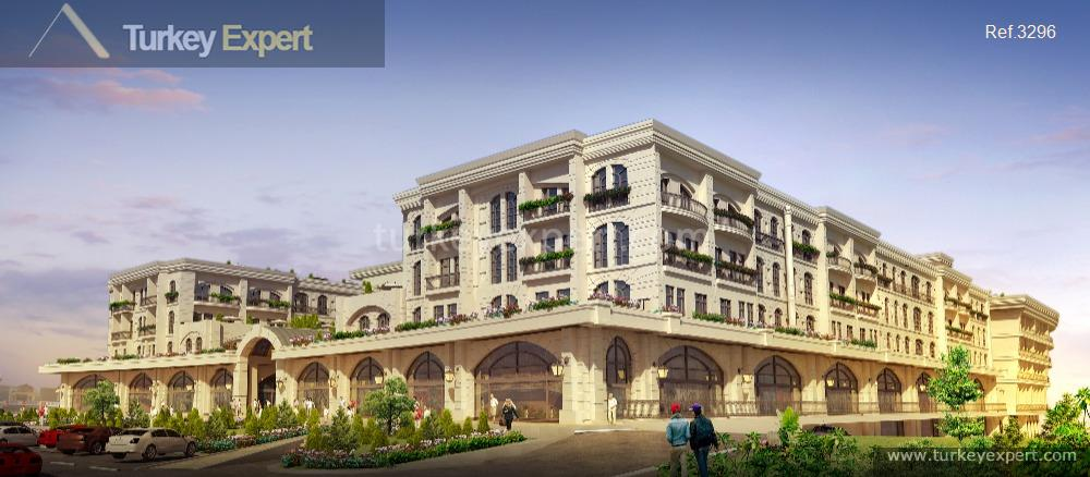 investment apartments with ottoman architecture20