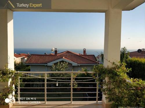 Beautiful villa with sea views for sale in Istanbul, Bahcelievler district