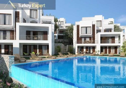Spacious holiday apartments for sale in Bodrum Yalikavak, 100 meters to sea