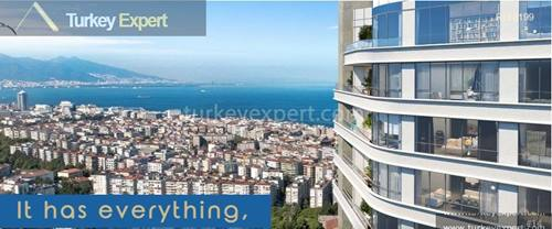 Apartment for sale in Alsancak Izmir