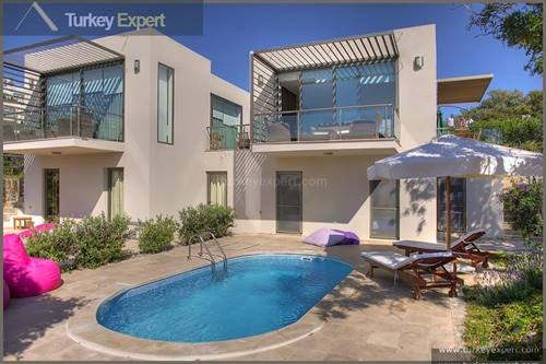 Luxury villa with private pool for sale in Bodrum Yalikavak