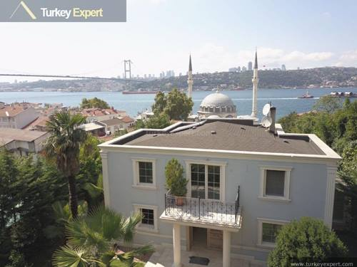 Beautiful mansion house for sale in Istanbul with Bosphorus views