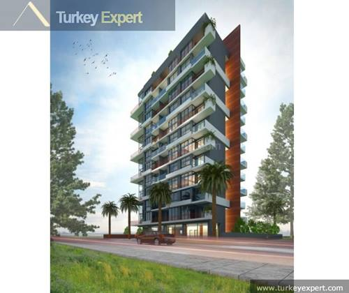 Apartments next to university and shopping mall in Bornova