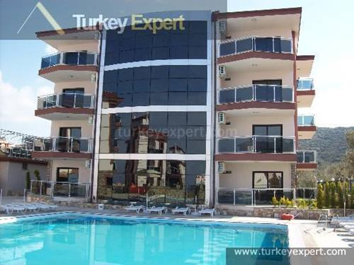 New Kusadasi apartment with pool view