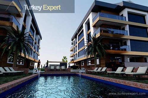 Luxury completed apartments in Izmir Tire