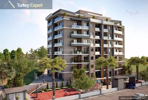 New apartments close to airport in Izmir Karabaglar