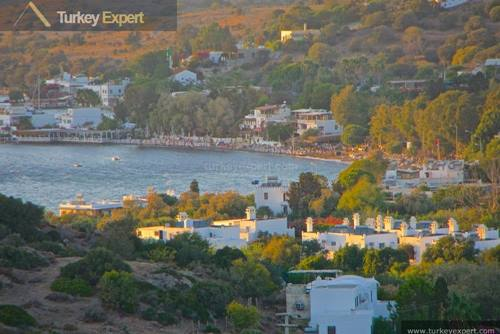 Attractive home with sea views for sale in Bodrum Gumusluk