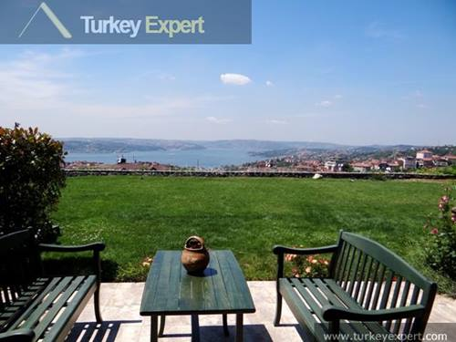 Spectacular Bosporus mansion with a huge plot and uninterrupted views from each 4 floors
