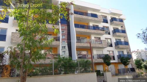 New luxurious apartment with pool for sale in Kusadasi