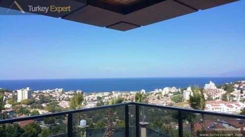 New sea view apartments with pools and underground parking at Ladies Beach Kusadasi