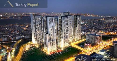 Best priced 2 bedroom apartment on the popular NLogo project in Istanbul