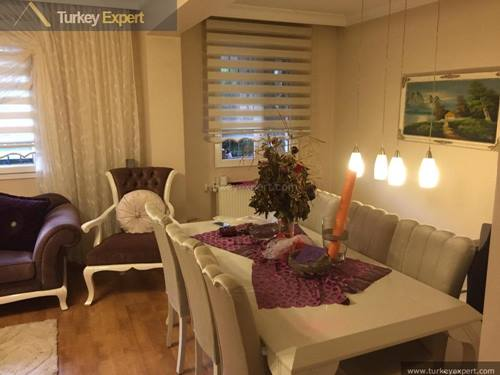 Spacious duplex apartment for sale in Izmir center