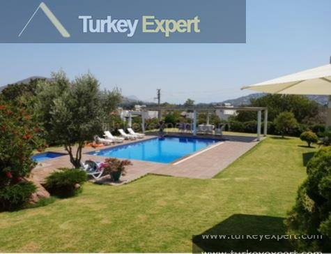 Bargain priced garden apartment in Bodrum Gumusluk