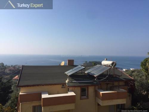Villa with sea views near Kusadasi center