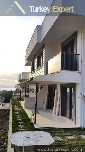 new sea view villas with12