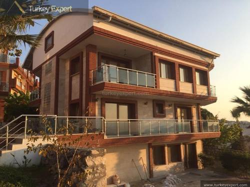 Private sea-view villa with a home elevator, for sale near the popular Ladies Beach, Kusadasi